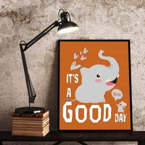 Plakat na ścianę - IT'S A GOOD DAY