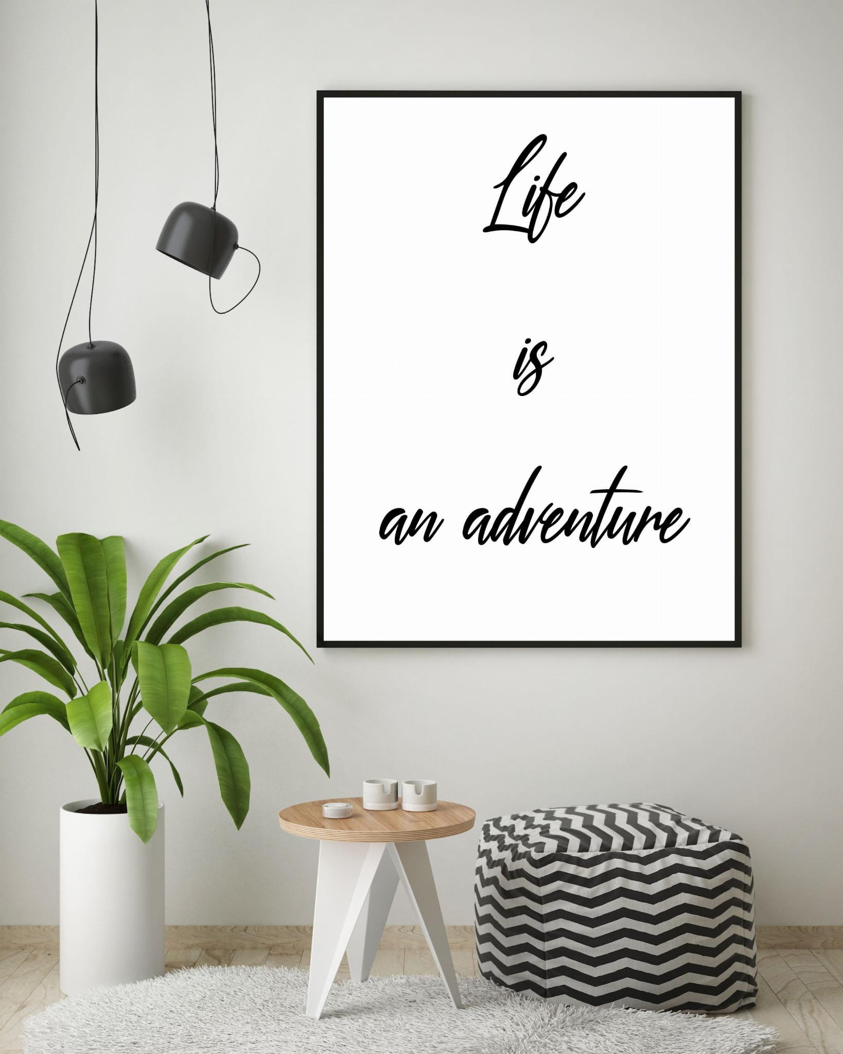 Plakat Na ścianę Adventure